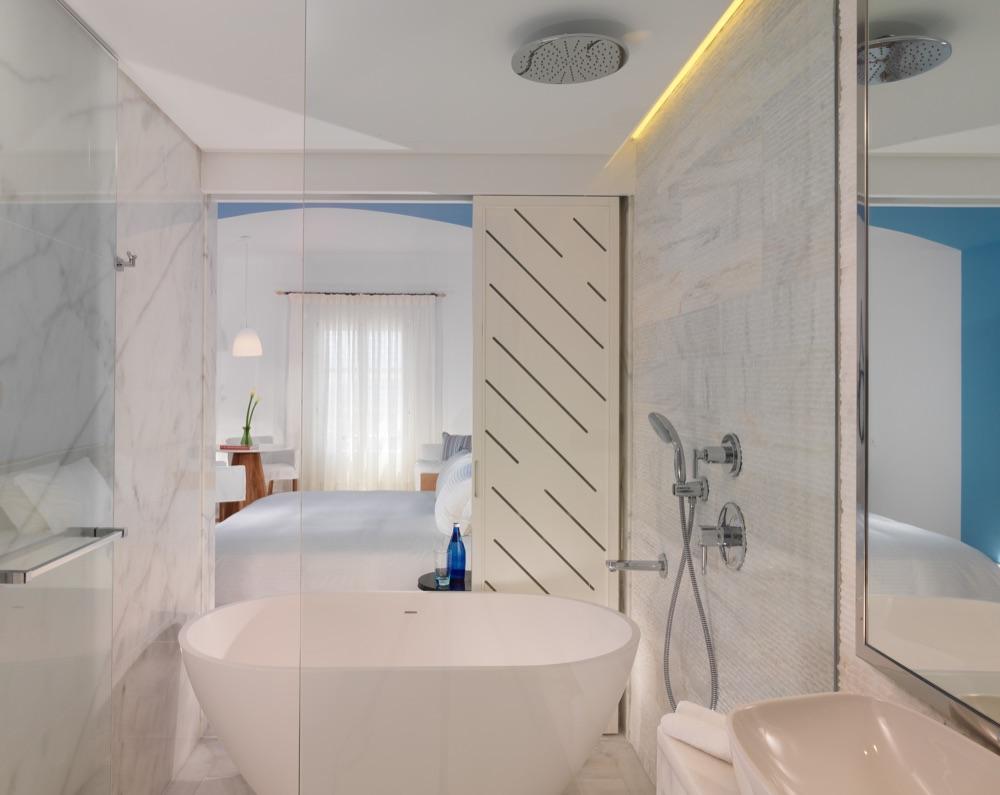 Mykonos Grand Hotel Resort Hotel En Agios Ioannis Chios  ~ Cambio De Banera Por Ducha En El Corte Ingles